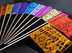 Okay, I'm going to stop obsessing over papel picado now. BUT: how great would these be to hand out at a ceremony?