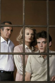 Ben Gazarra, Gena Rowlands & Aiden Quinn in An Early Frost aired as a made for TV movie on Nov. 1985 on NBC. This landmark film was the first major film, made for television or feature film, to deal with the topic of HIV/AIDS. Lgbt, Aidan Quinn, Gena Rowlands, Image Film, My Youth, Best Actress, Feature Film, Love Story, Movie Tv