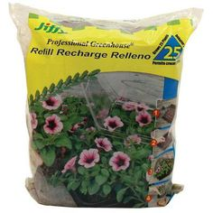 Refill your tabletop greenhouse for another use with the Jiffy Peat Pellets . These replacement pellets allow you to start more plants of your choice.