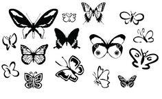 Butterflies ~ KLDezign SVG - free files