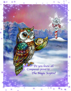 """Did you know all Compasses point to """"The Magic Sceptre""""?"""