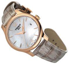 #zegarek damski #Tissot T063.210.37.117.00 http://www.iconiamoda.com/zegarek-do-sukienki/