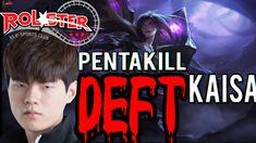 The Pentakill !!! KT Deft KAİSA (KR SOLOQ REPLAY)
