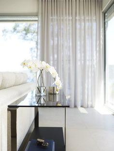 Soft Curtains On Windows