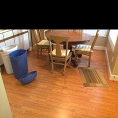 Finished Laminate Floor in Cary