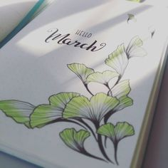 #bulletjournal #bujo #bulletjournalpolska #bulletjournaljunkies #march #ginko New month new page. Trying out new kinds of drawings, so for this month I've chosen ginko leafs. Although I probably should have chosen a flower since spring is near, but somehow I wasn't in a mood for flowers. I'm going to try to draw at least a couple of leafs on each week spread. We'll see how it turns out.