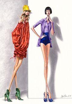 Fashion Ilustration Arturo Elena
