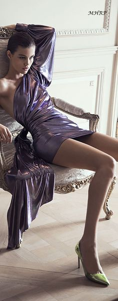 Rosamaria G Frangini Mauve, Lilac, Beautiful Legs, How To Feel Beautiful, Paris Appartment, Purple Poppies, Nylons And Pantyhose, Alexandre Vauthier, All Things Purple