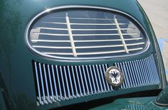 544. 1953 VW Beetle Rear Window Oval. Restored. It was the first Beetle in British Columbia.