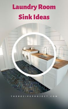 Laundry Room Sink Ideas (Utility Sink And Cabinet Design)