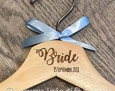 Create a new Etsy account. Bridesmaid Dress Hangers, Bridesmaid Dresses, Clothes Hanger, Etsy, Bridesmade Dresses, Coat Hanger, Bridesmaid Hangers, Clothes Hangers, Clothes Racks