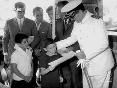 """Castelló en el NO-DO: """"El niño y el mar"""". Curso infantil de verano en Benicarló. 1966. En: Información nacional (min. 03:00)"""