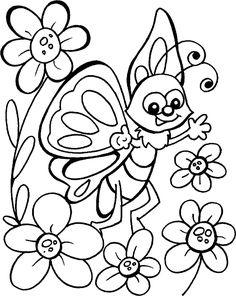 hearts and butterflies coloring page free printable - HD900×1128