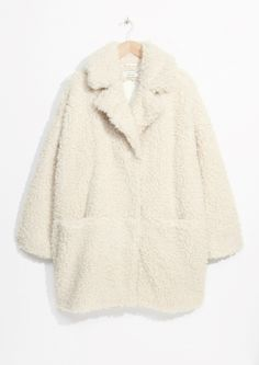 & Other Stories | Faux Fur Cocoon Coat