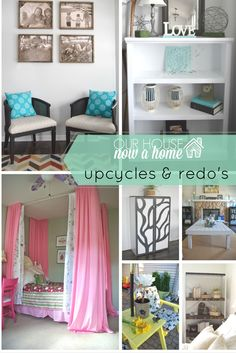13 furniture transformations, turning secondhand furniture into showstopping pieces to have in a home. DIY, simple upcycles, and redo's with full tutorials.