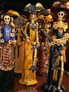 La Catrina, symbol of the Mexican Days of the Dead #dayofthedead #mexico