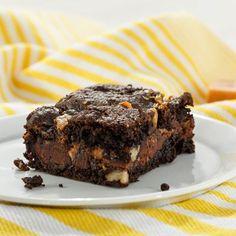 Chocolate+Caramel+Brownies