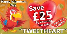 "Polly is sharing the love this Valentines Day  Use the promo code ""TWEETHEART"" to save £25 on any order. Valid until 14/2/16."