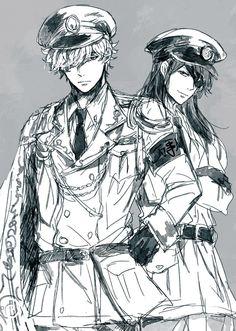 Gintama ~~ Gintoki and Katsura doing it with style!