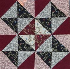 Civil War Quilt Block