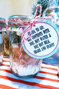 Cocoa to-go! #DIY #holidayparty