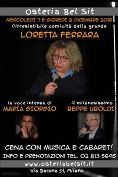 7-8 dicembre 2016 Loretta Ferrara - Osteria Bel Sit - Google+