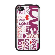 """Love valentines day typography iphone case: Cute case! Crazy unfinished monkeys design. Pattern available as ipad and iphone case. Good present to give your friend for valentines day, the holidays, christmas or birthday."""