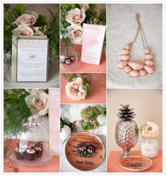Wedding Colour Trends | Peach Inspiration | Magnolia Studios