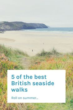 Embrace the British summer with these easy access seaside walks all over the UK. Which one will you do first?