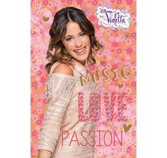 Violetta Poster Music Love Passion. Hier bei www.closeup.de
