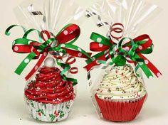 Cupcakes Natalizi fatti a mano
