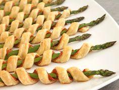 Pepperidge Farm® Puff Pastry: Prosciutto Asparagus Spirals