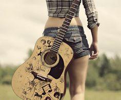 Music and daisy dukes