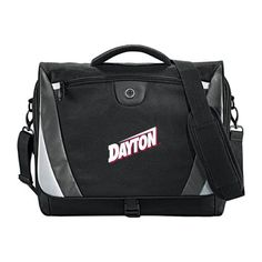 Dayton Slope Compu Black/Grey Messenger Bag 'Dayton' *** Check out this great product. (This is an Amazon Affiliate link and I receive a commission for the sales)