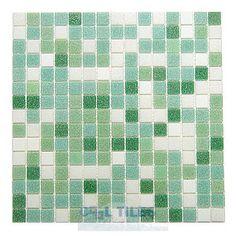 HotGlass | HAK-UA-309-M | Mint Ice Blend | Tile > Glass Tile