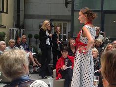 Jukka Rintala fashion show with Aarikka jewelleries.