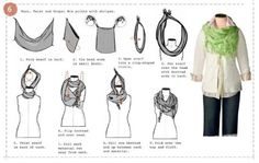There's more than one way to wear a scarf. These scarf experts prove the scarf is the most versatile accessory. 50 ways to wear a scarf Sydney at How Does She shares with us 50 ways to wear a...