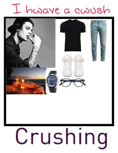 """Like for my crush"" by swagbaexoxo ❤ liked on Polyvore featuring Dolce&Gabbana, Gucci, BUSCEMI, Frédérique Constant, men's fashion and menswear"