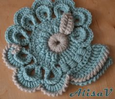 Alisa: Freeform crochet (for crochet coat).
