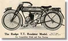 Rudge TT roadster
