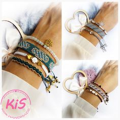 Lubisz nosić więcej niż jedną bransoletkę? Jeśli tak to te zestawy bransoletek są idealne dla Ciebie. Już nie musisz szukać wśród wielu modeli, aby je dopasować, tutaj znajdziesz komplety, które składają się z bransoletek w podobnej kolorystyce i dopasowanym rozmiarze. Bransoletki można nosić razem lub zupełnie niezależnie. Bangles, Bracelets, Model, Jewelry, Fashion, Moda, Jewlery, Bijoux