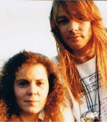 Axl Rose and his mother Sharon Bailey, doesn't she resemble Erin? Axl Rose, Guns N Roses, Great Bands, Cool Bands, Rango Vocal, Erin Everly, Rock N Roll, Sweet Child O' Mine, Ginger Men