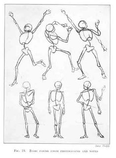 Figure Drawing: Action Skeletons