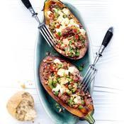 Aubergines farcies - une recette Légumes en folie - Cuisine