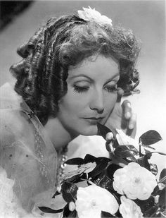 "Greta Garbo as Marguerite Gautier in ""Camille (Margarita Gautier)"" (1936). Director: George Cukor."