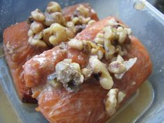 The Best Marinated Salmon Or Steelhead Trout) With Maple Walnut Recipe - Food.com