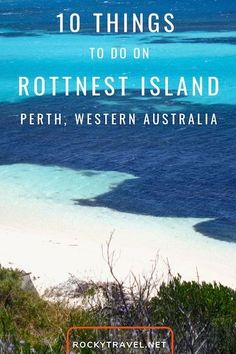 Here is how to best plan a day trip to Rottnest Island from Perth, Western Australia with the top things to do on Rotto, the car-free island. Brisbane, Melbourne, Perth Western Australia, Visit Australia, Australia Trip, Road Trip, Australia Travel Guide, Romantic Places, Beautiful Places