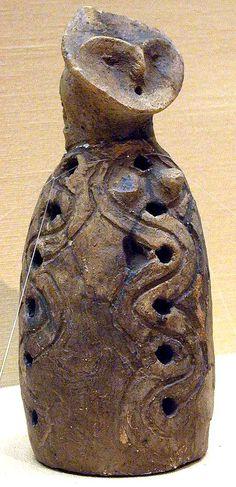 Jomon period. Yamanashi Japan. BC.3,500 - BC.2,500.