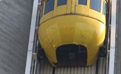 Skylon's Yellow Bug Elevator