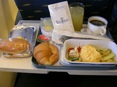 Iberia Airline meal
